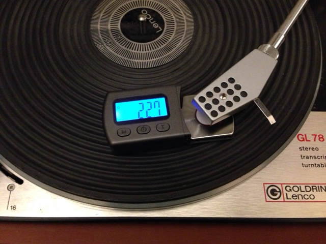 Stylus Force Tracking Gauge / Arm Load Meter for Vinylphiles Blogge10