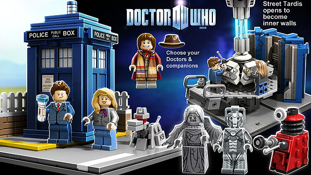 [Lego] Doctor Who sur CUUSOO - Page 2 Doctor10