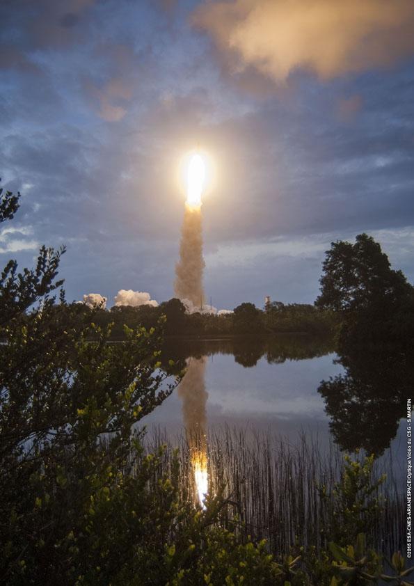 Lancement Ariane 5 ECA VA224 / Star One C4 + MSG4 - 15 juillet 2015  - Page 5 179