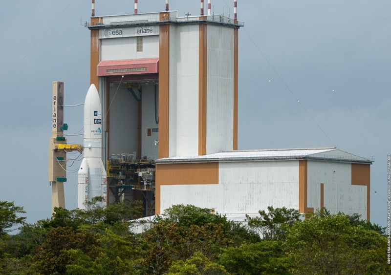 Lancement Ariane 5 ECA VA224 / Star One C4 + MSG4 - 15 juillet 2015  - Page 3 Scree107