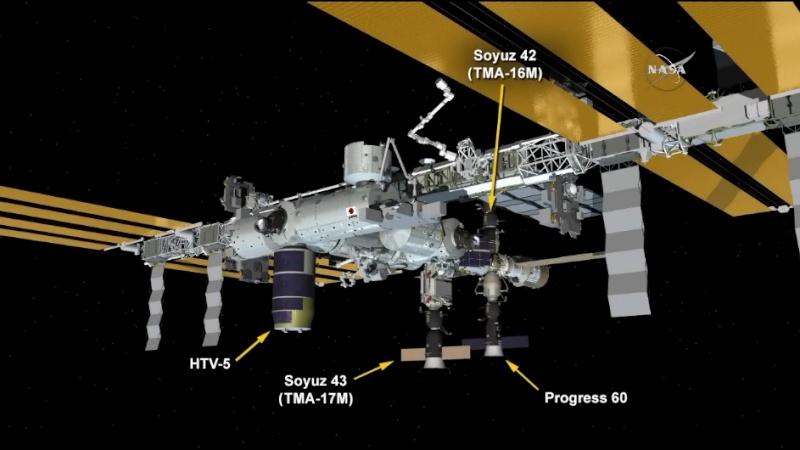 Lancement et retour sur terre de Soyouz TMA-18M  - Page 6 Scree154