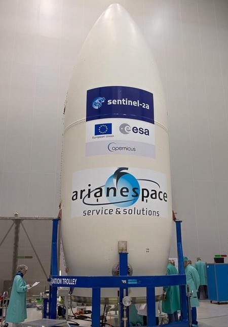 Vega VV05 (Sentinel-2A) - 23.6.2015 Screen21