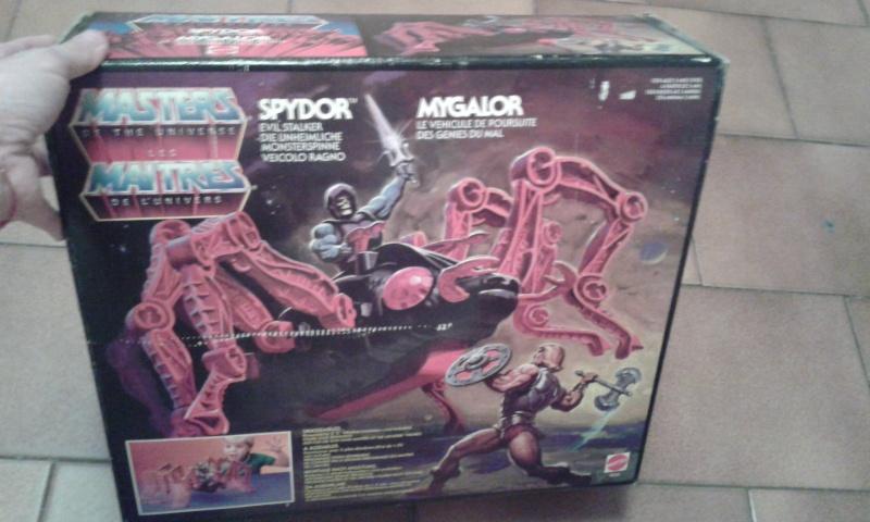 Spydor Mygalor fondo di magazzino 20150611