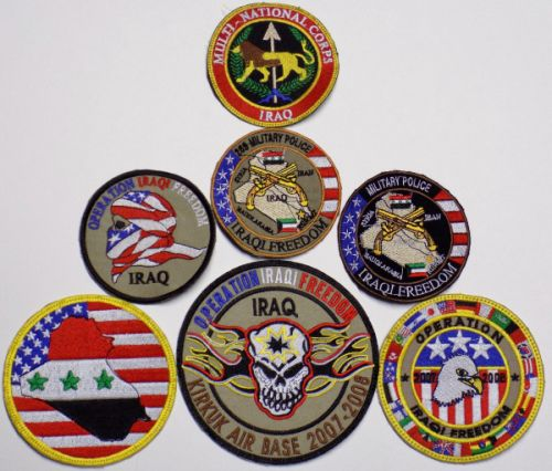 Iraqi Freedom and Multi-National Corp,Iraq Patch with lion Operat10