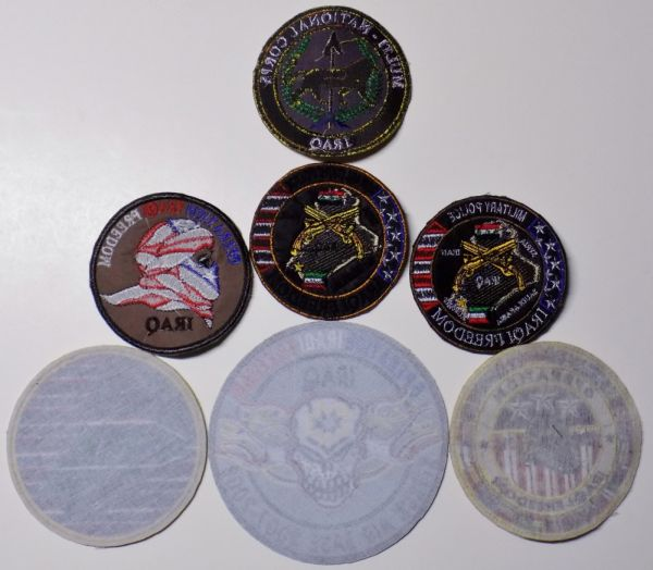 Iraqi Freedom and Multi-National Corp,Iraq Patch with lion Operat11