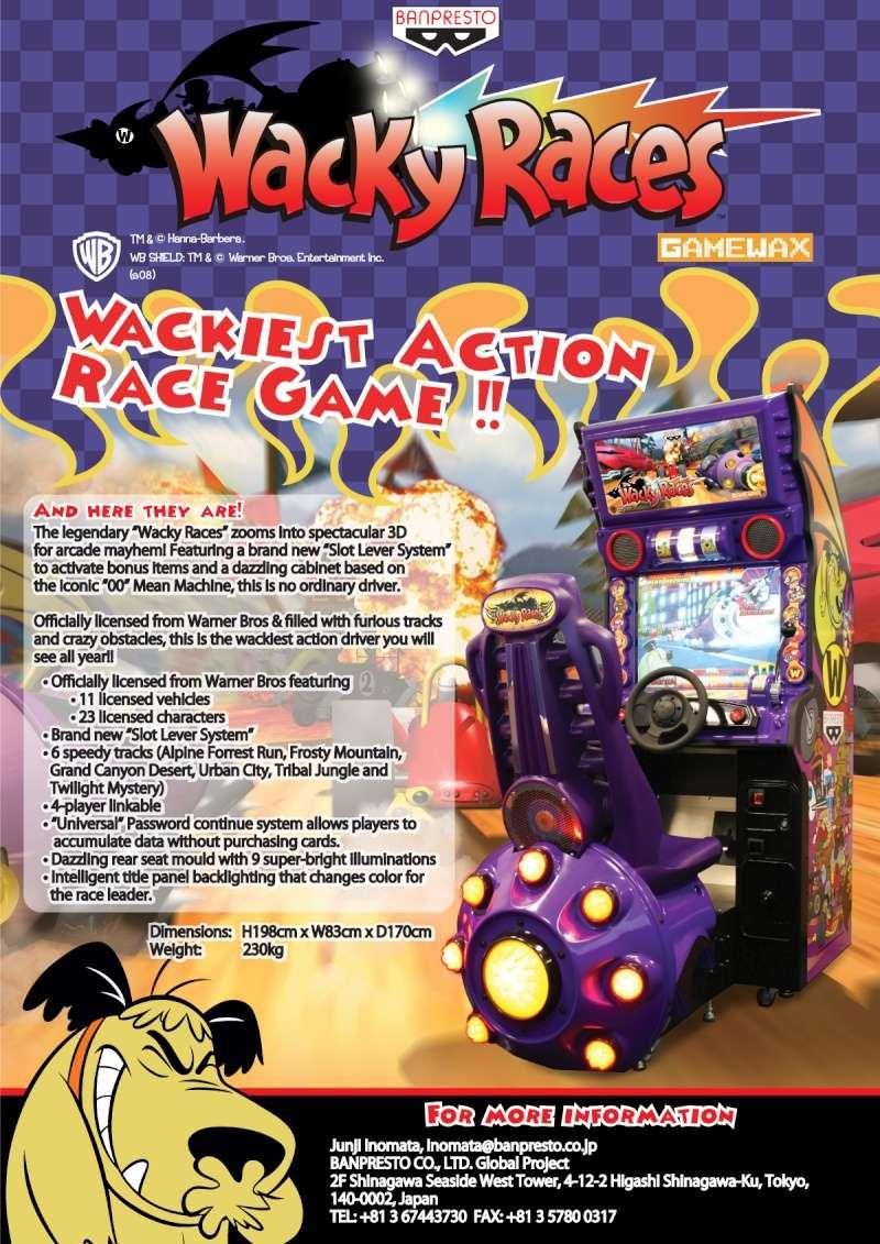 Wacky races/Les fous du volant Wr10