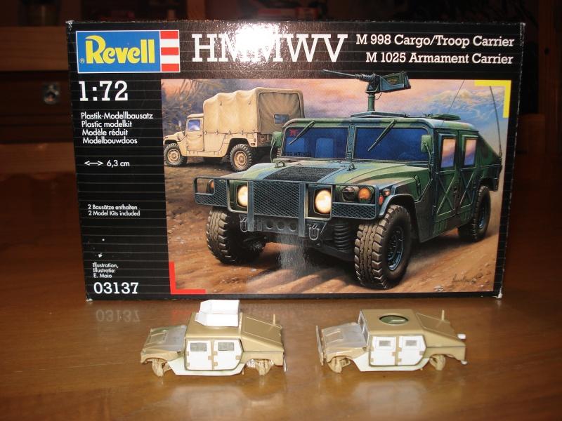 "[Revell 1/72 + scratch] Humvee ""Irak war"" et son convoi.... Dsc00010"