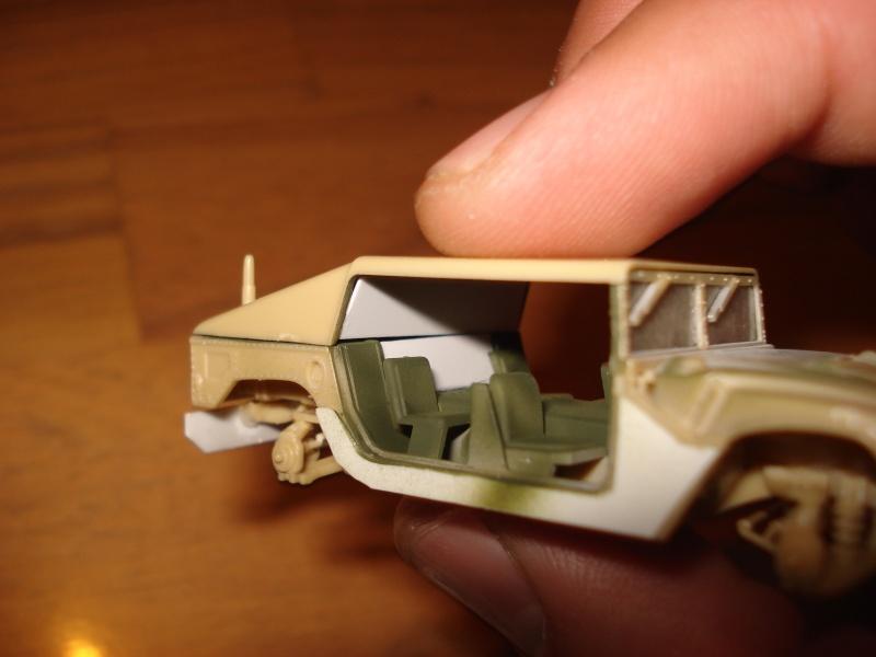 "[Revell 1/72 + scratch] Humvee ""Irak war"" et son convoi.... Dsc00019"