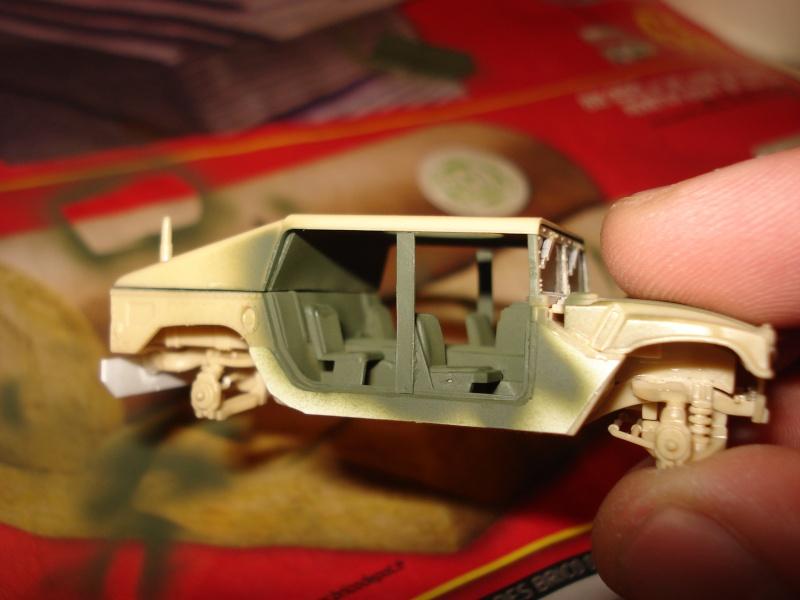 "[Revell 1/72 + scratch] Humvee ""Irak war"" et son convoi.... Dsc00023"