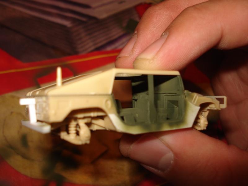 "[Revell 1/72 + scratch] Humvee ""Irak war"" et son convoi.... Dsc00025"