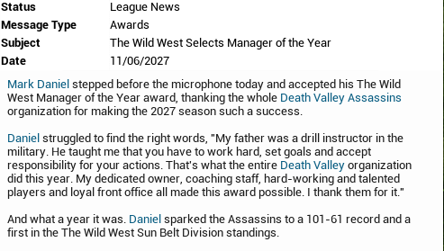 The Wild West Selects Manager of the Year Untitl11