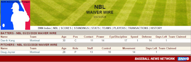 Waiver Wire Untitl45