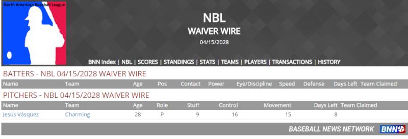 Waiver Wire Untitl61