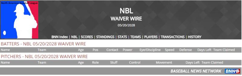 Waiver Wire Untitl84