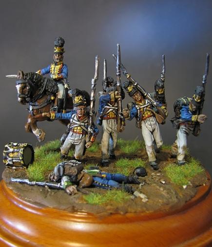 """""""Ne vous arrêtez pas!""""- Infanterie du Royaume de Bavière, 1809 Img_5630"""