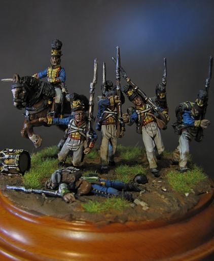 """""""Ne vous arrêtez pas!""""- Infanterie du Royaume de Bavière, 1809 Img_5631"""