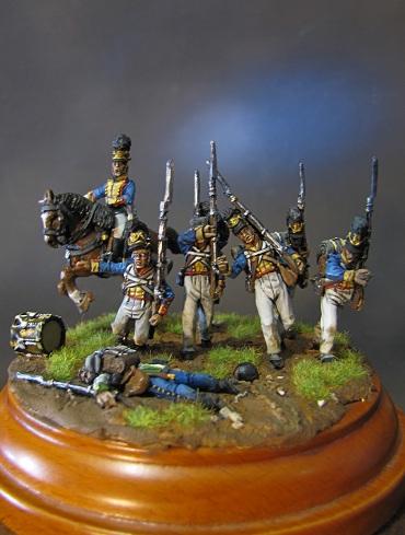 """""""Ne vous arrêtez pas!""""- Infanterie du Royaume de Bavière, 1809 Img_5636"""