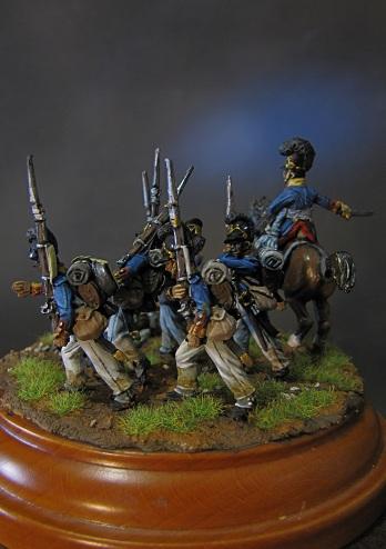 """""""Ne vous arrêtez pas!""""- Infanterie du Royaume de Bavière, 1809 Img_5638"""