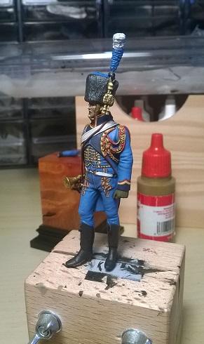 Trompette Artillerie a cheval de la Garde, 1807 Wp_20113