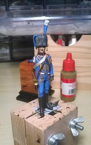 Trompette Artillerie a cheval de la Garde, 1807 Wp_20114