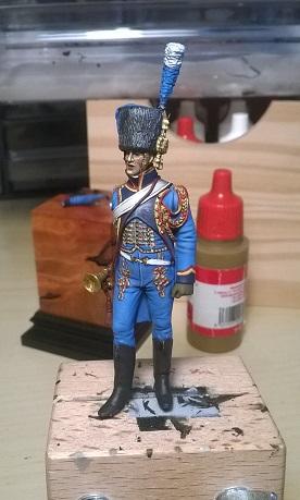 Trompette Artillerie a cheval de la Garde, 1807 Wp_20115