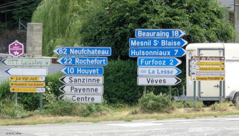 Encore un CR en retard, celui du 21/6/15, +/- 150 km dans le sud du Namurois 2310