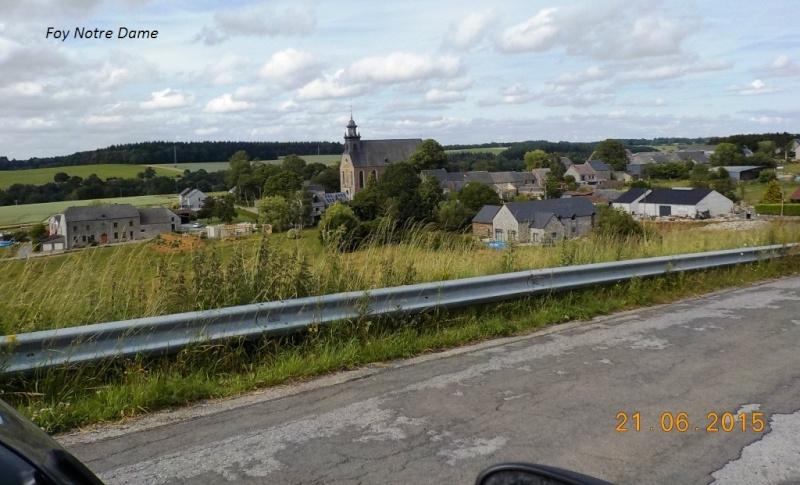 Encore un CR en retard, celui du 21/6/15, +/- 150 km dans le sud du Namurois 2710