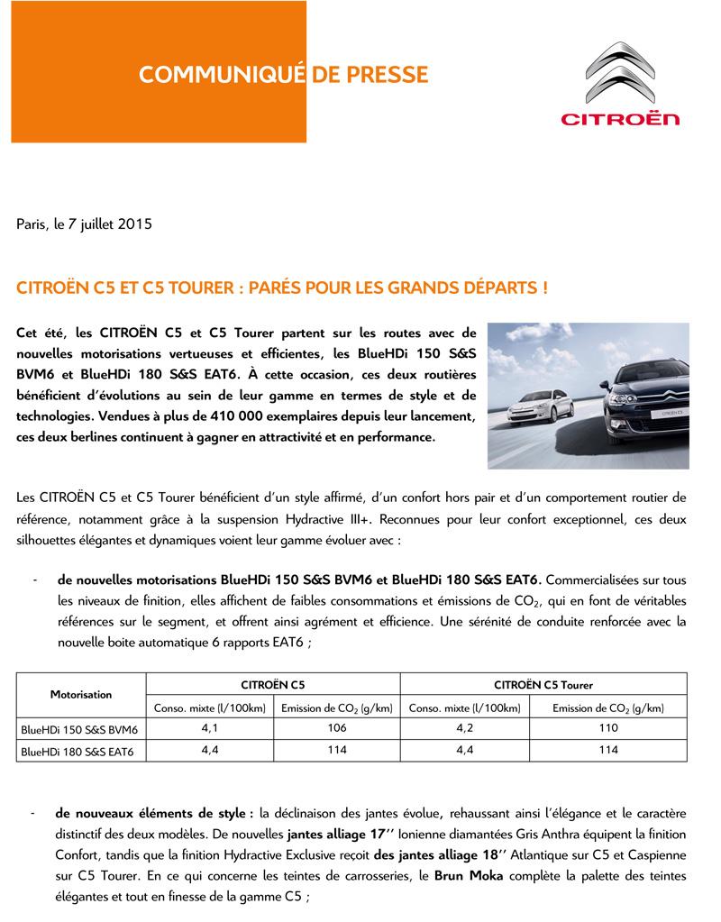 [SUJET OFFICIEL] Citroën C5 II phase III - Page 6 Cp_c5c10