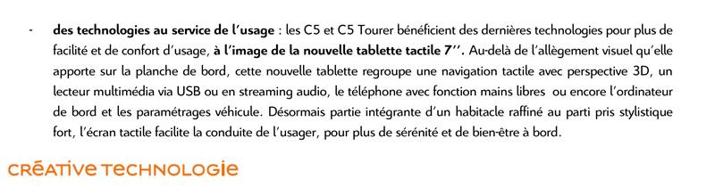 [SUJET OFFICIEL] Citroën C5 II phase III - Page 6 Cp_c5c11