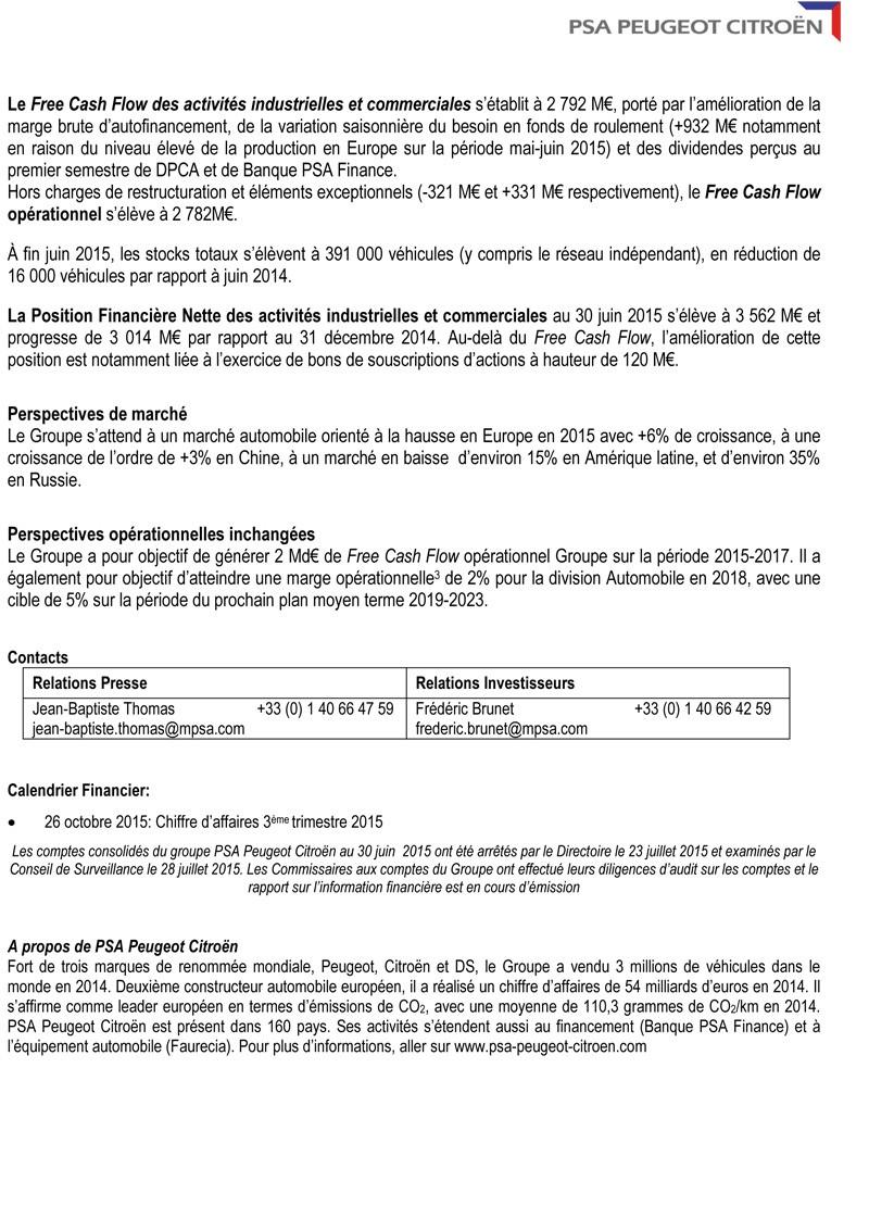 [VENTE] Résultats commerciaux et financiers 2015 Cp_res11