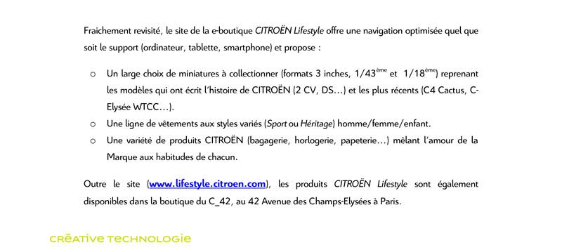 [INTERNET] Boutique Citroën Lifestyle Cp_sol11