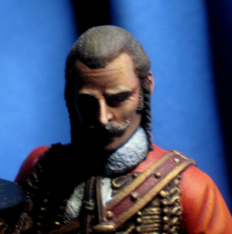 Capitaine du 4ème Hussard 1er Empire 43244310