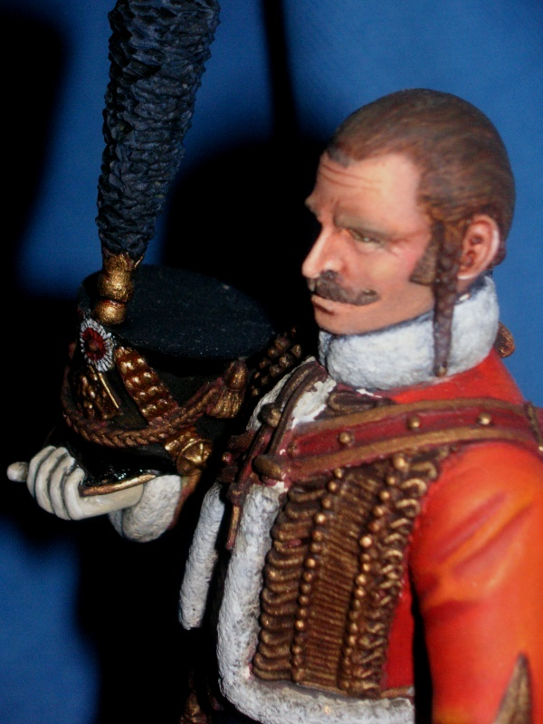 Capitaine du 4ème Hussard 1er Empire 72972310