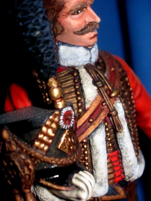 Capitaine du 4ème Hussard 1er Empire 97370310