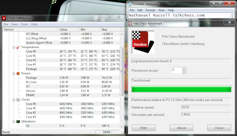 Stockfish 7 64-bit bmi2 4CPU Gauntlet CCRL 40/40 Haswel11