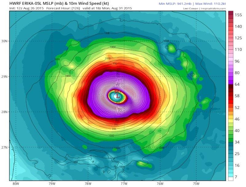 *BLOG* Tropical Storm Erika 12z_hw10