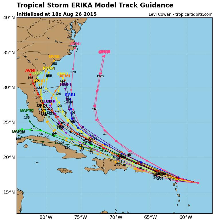 *BLOG* Tropical Storm Erika 18z_8_10