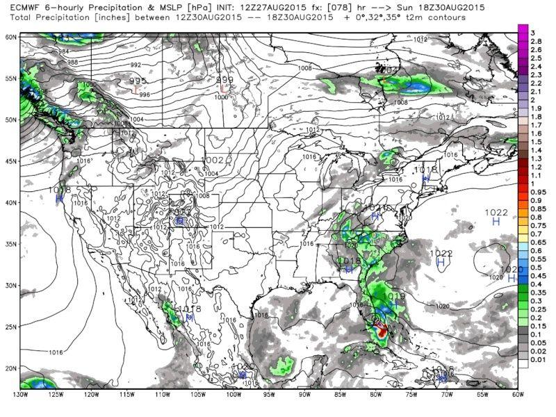 *BLOG* Tropical Storm Erika - Page 3 Euro_110