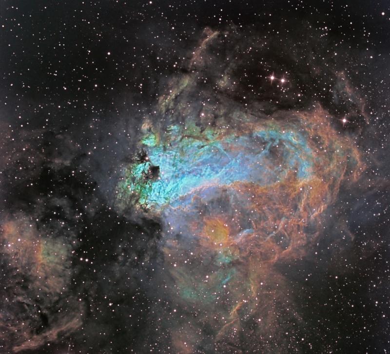 M17 Omega Nebula M17_sh10
