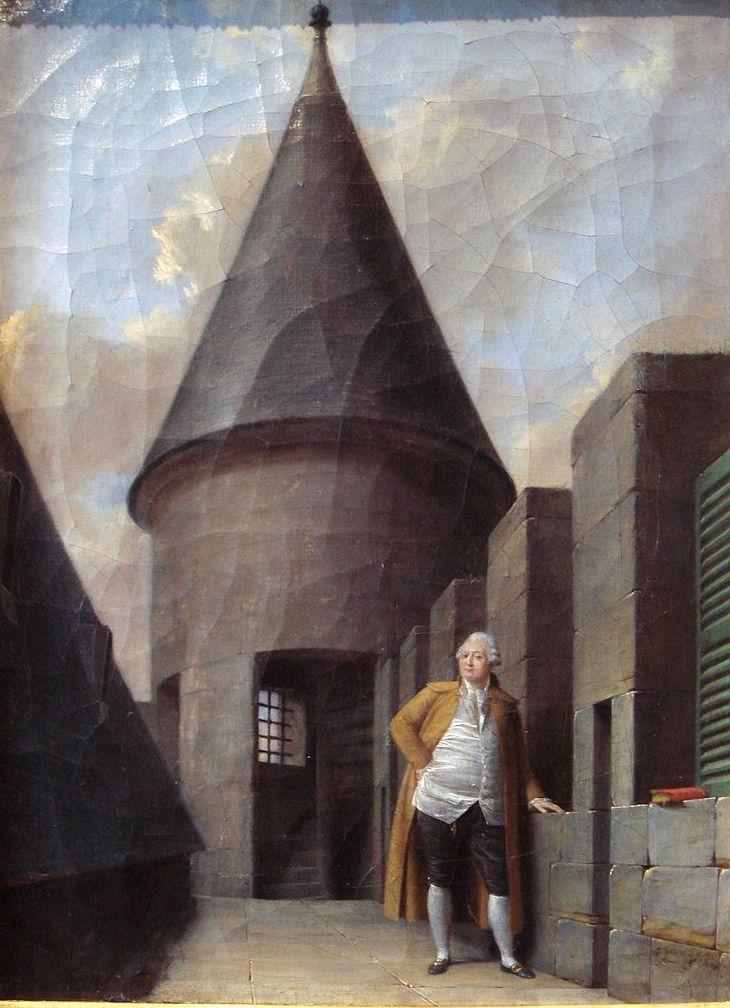 La famille royale à la prison du Temple : plans et aménagements - Page 2 800px-11