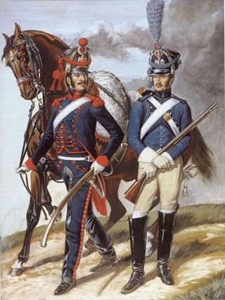 Soldat du train d'artillerie 1808 20516913