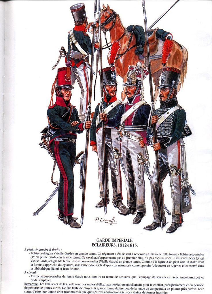 éclaireur-grenadier 1er régiment vieille garde 1812-1813 métal modèle modification 54mm 458be411