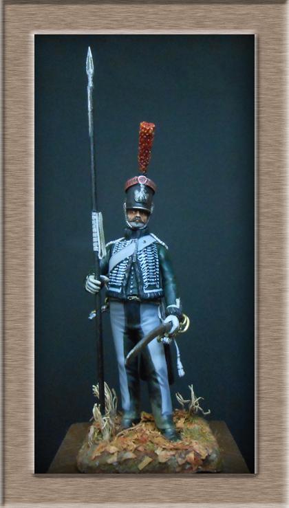 éclaireur-grenadier 1er régiment vieille garde 1812-1813 métal modèle modification 54mm 74_16214