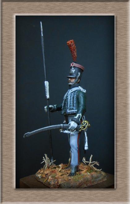 éclaireur-grenadier 1er régiment vieille garde 1812-1813 métal modèle modification 54mm 74_16215