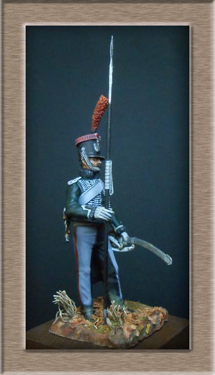 éclaireur-grenadier 1er régiment vieille garde 1812-1813 métal modèle modification 54mm 74_16311