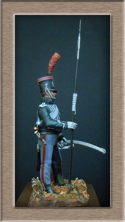 éclaireur-grenadier 1er régiment vieille garde 1812-1813 métal modèle modification 54mm 74_16413