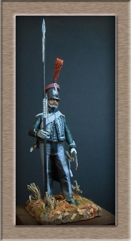 éclaireur-grenadier 1er régiment vieille garde 1812-1813 métal modèle modification 54mm 74_16414