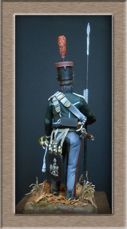 éclaireur-grenadier 1er régiment vieille garde 1812-1813 métal modèle modification 54mm 74_16415