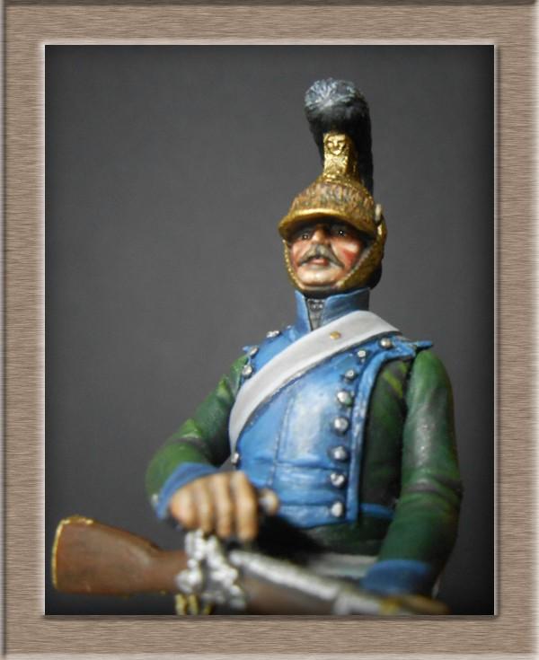 Chevau-léger Carabinier du 5e régiment MM 54mm modification 74_17213