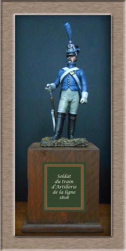 Soldat du train d'artillerie 1808 74_19416